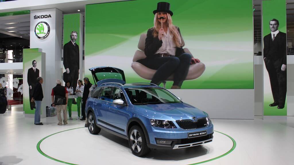 Skoda Octavia Scout at the Geneva Auto Salon