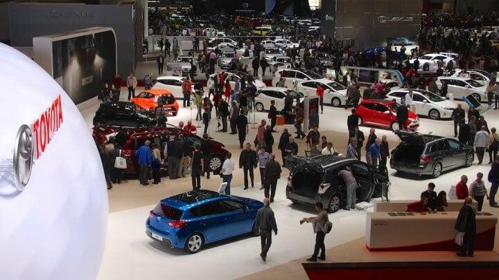 Toyota at Geneva Auto Show 2014