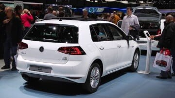 White VW Golf TSi