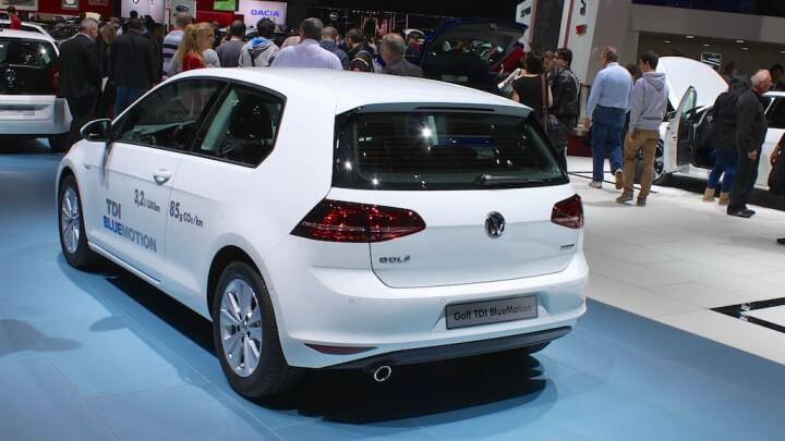 Volkswagen Golf at Geneva Auto Salon