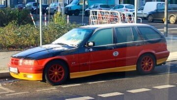 BMW Kombi in German Colors