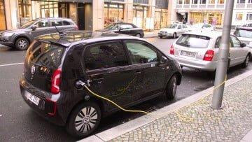 Volkswagen e-up! in Berlin