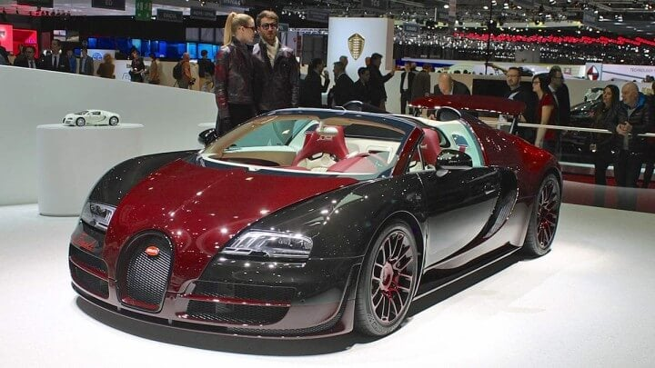 Bugatti La Finale at the Geneva Auto Sho 2014