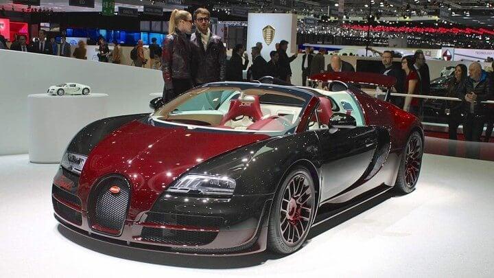 Bugatti La Finale at the Geneva Auto Sho 2014