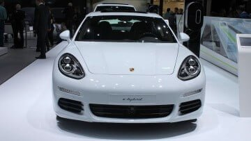 Porsche e-hybrid at the Geneva Auto Salon 2015