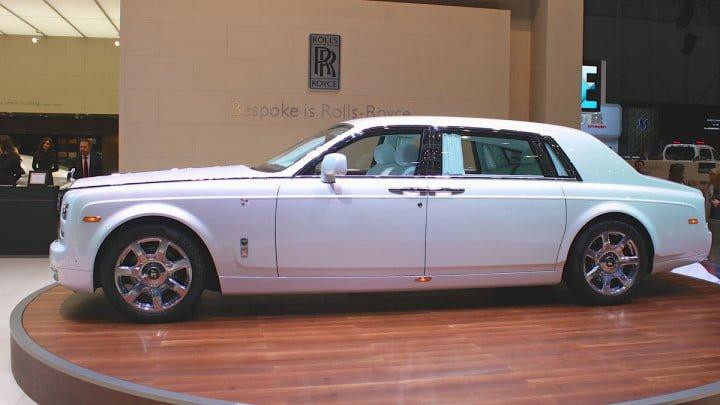 Rolls Royce Serenity at the Geneva Auto Show 2015