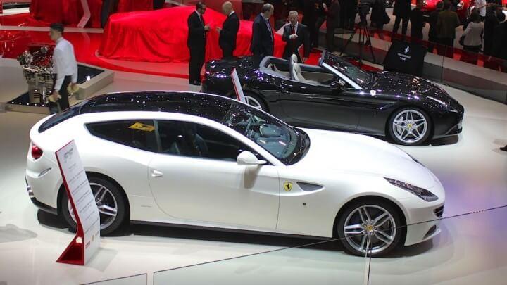 Ferrari FF and California T at Geneva Auto Show 2015
