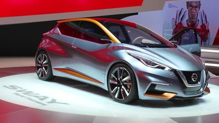 NIssan Sway at the Geneva Auto Show 2014