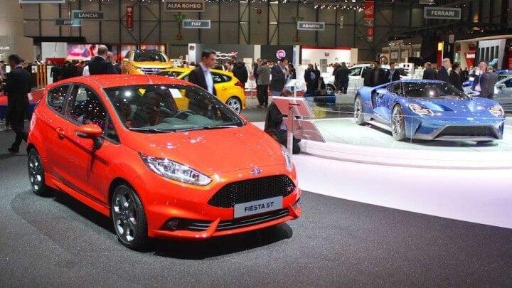 Ford Fiesta & GT40 at Geneva Auto Show 2015