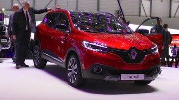 Renault Kadjar at Geneva Auto Salon 2015