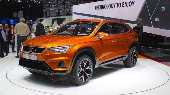 Seat 20V20 Crossover at Geneva Auto Show 2015