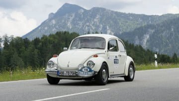 VW Beetle Classic Car Rally