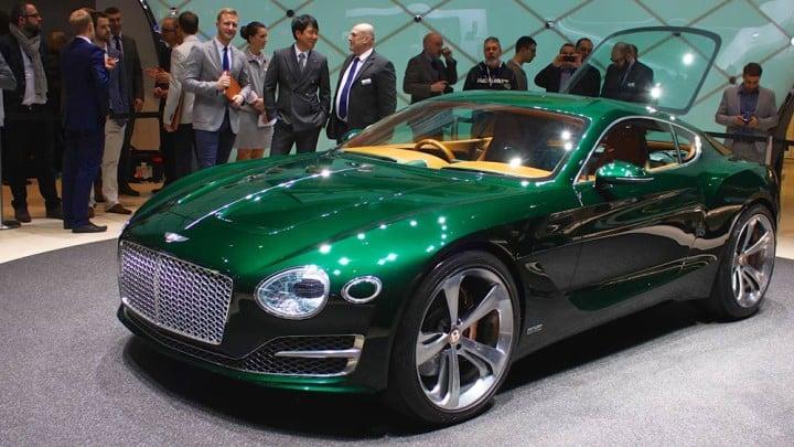 Bentley EXP 10 Speed 6 concept at Geneva Auto Salon 2015