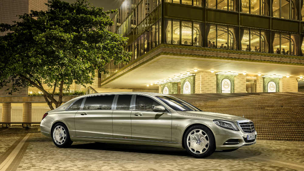 Mercedes Maybach S600 Pullman