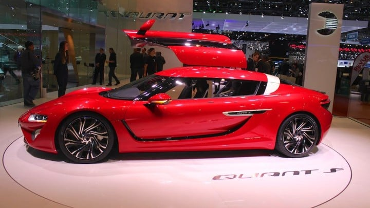 Quant F Electric Sportscar at Geneva Auto Show 2015