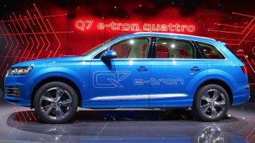 Audi Q7 e-tron quattro Geneva 2015