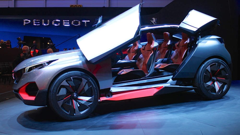 Peugeot Quartz at the Geneva Auto Show 2015