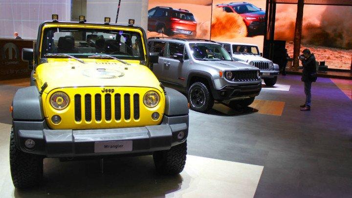 Jeep at Geneva Auto Show 2015