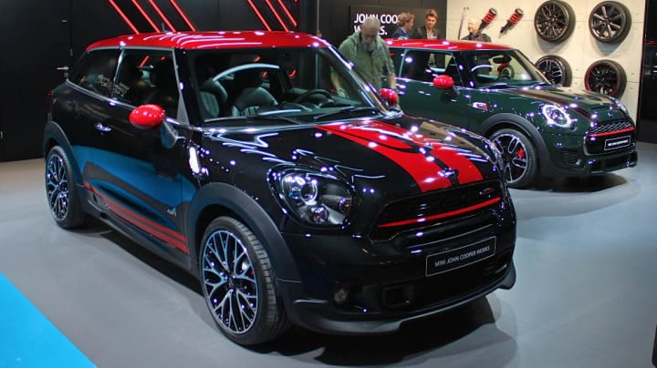 Mini at Geneva Auto Salon 2014