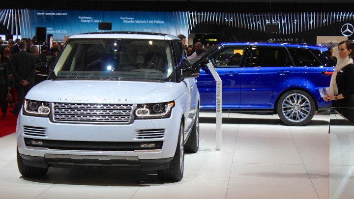 Range Rover at Geneva Auto Salon