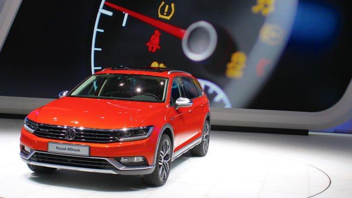 VW Passat Alltrack at the Geneva Auto Show 2015