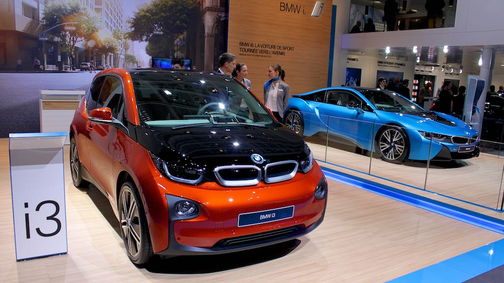 BMW i3 and i8 Geneva 2015