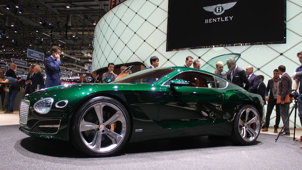 Bentley EXP 10 Speed 6 Concept at Geneva Auto Show 2015