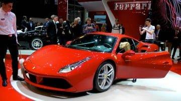 Ferrari 488 GTB Geneva Auto Salon 2015