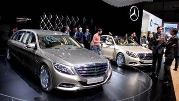 Mercedes Maybach Geneva