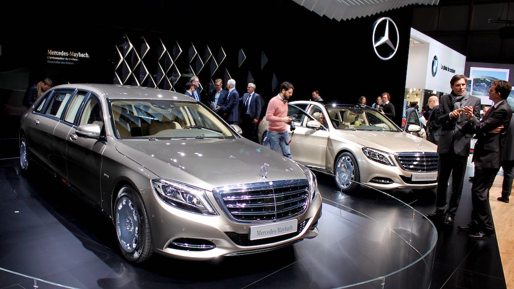 2015 (Full Year) German Luxury Car Sales Worldwide & China