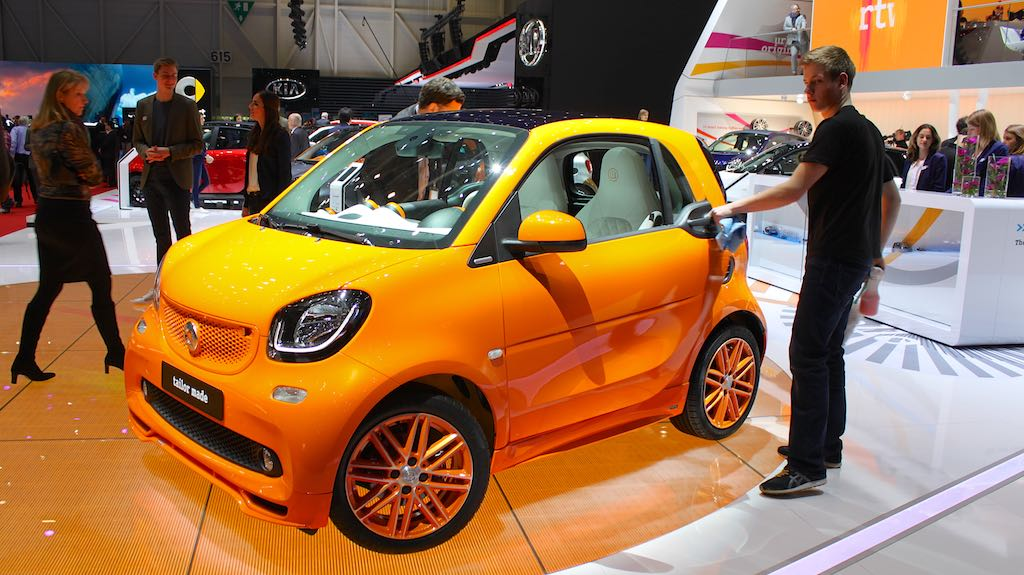 Smart at Geneva Auto Salon 2015