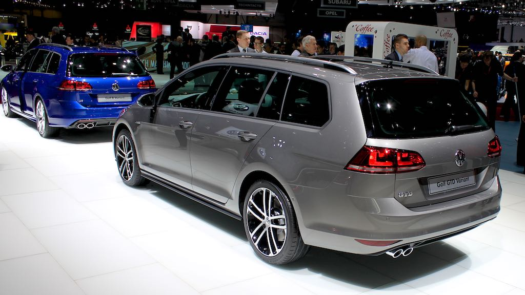 VW Golf Variant Geneva