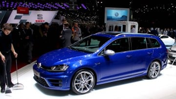 VW Golf Variant at Geneva Auto Show 2015