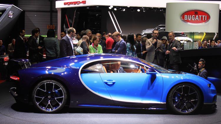 Bugatti Chiron at Geneva Auto Show 2016
