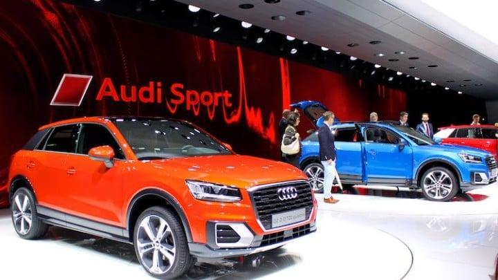 Audi at Geneva Auto Salon 2016