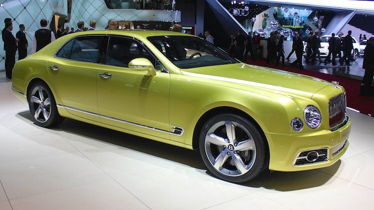 Bentley Mulsanne Geneva 2016