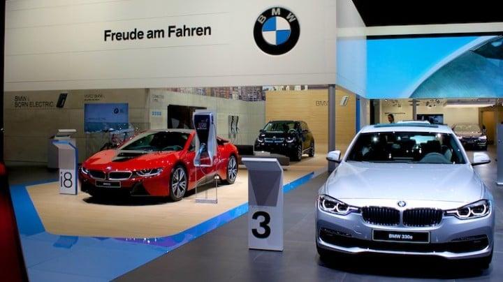 Electric and Hybrid BMWs Geneva 2016