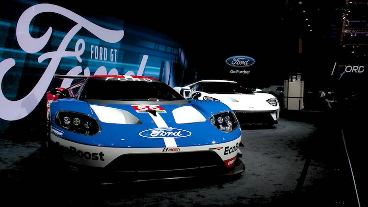 Ford GT at Geneva Auto Show 2016