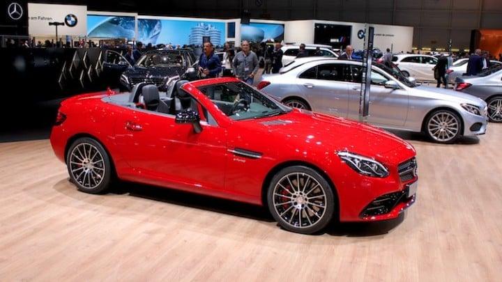Mercedes-Benz & BMW at Geneva 2016