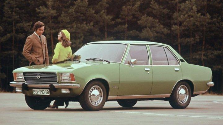 The Opel Rekord D Luxus, 1972–-1977.