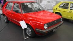 1983 VW Golf II GL - the first Golf II series model