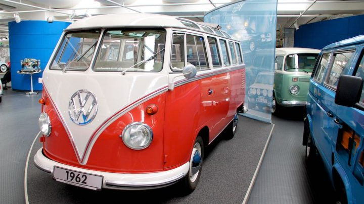 VW Bus in Wolfsburg