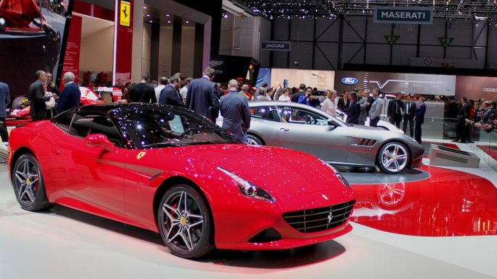 Ferrari stand Geneva 2016