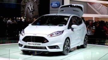 Ford Fiesta ST200 Geneva 2016