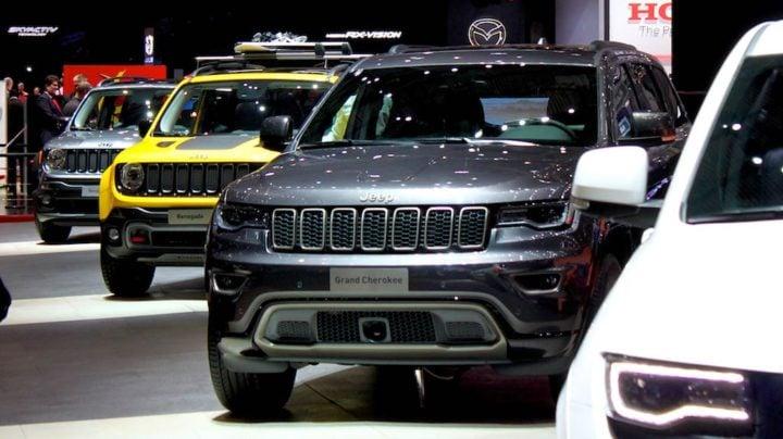 Jeeps at Geneva Auto Show 2016