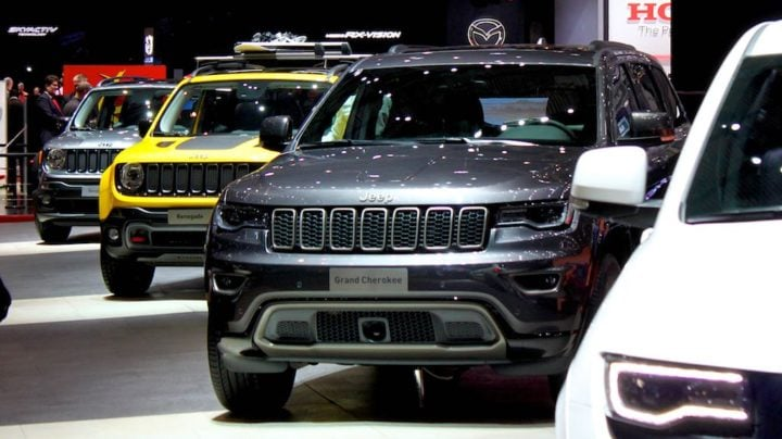 Jeeps at Geneva Auto Show 2016