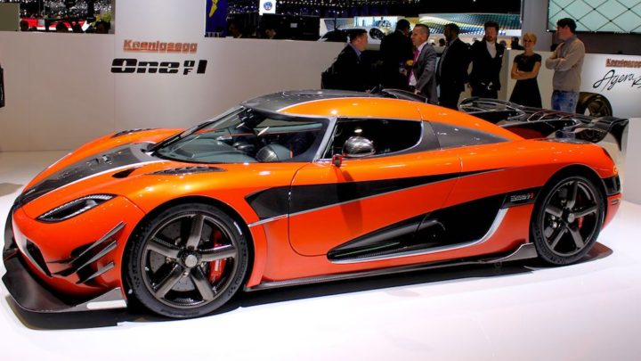 Koenigsegg One of 1 at Geneva 2016