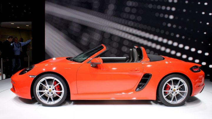 Porsche 718 Boxster at Geneva 2016