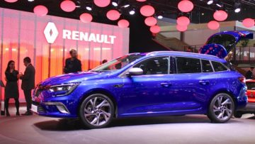 Renault Megane at Geneva Auto Salon 2016
