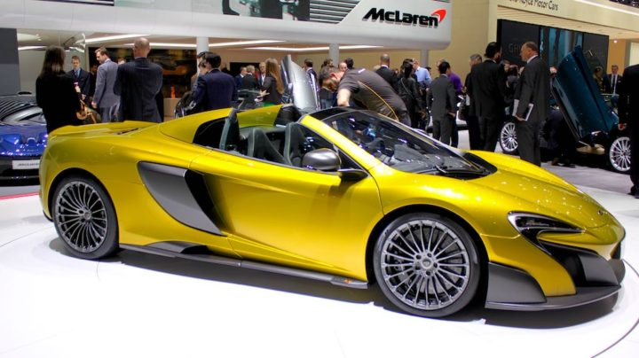 McLaren 675 LT at Geneva 2016